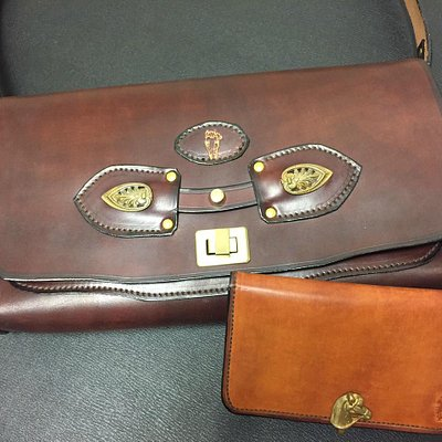 My gorgeous purse and wallet!