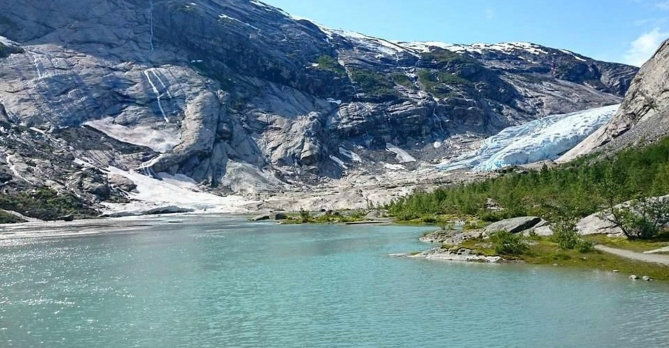 Starting point of the kayak ride to the glacier!