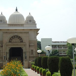 Another view of the Ashram.