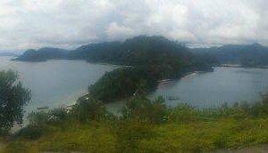 salah satu view pemandangan dari atas bukit
