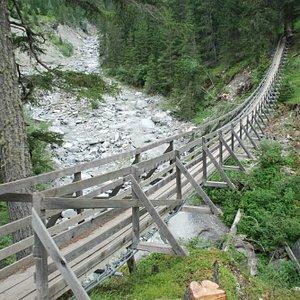 Val Sinestra Hängebrücke