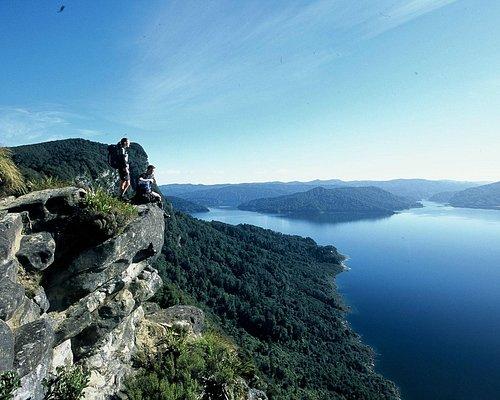 Amazing view on Lake Waikaremoana Guided Walk