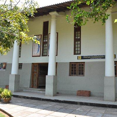Entrance Dambulla Painting Museum