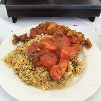 Shashlick chicken and rice! Yum!