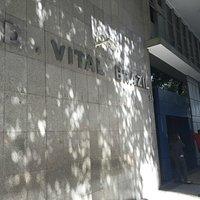 Edifício onde ficava o museu