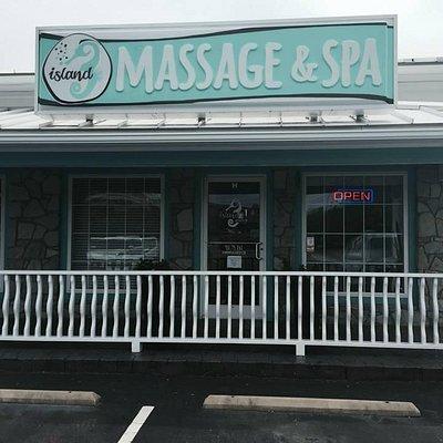 Island Massage & Spa Store Front