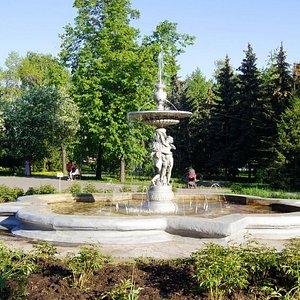 Ленинский сад.