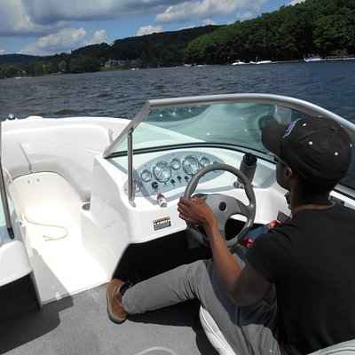 """The """"Admiral"""" at the helm"""