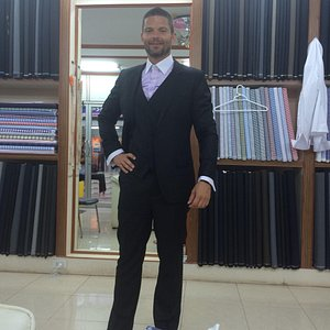 The best choice in Ao Nang, 4 shirts and 3 suits,100% cashmire, good quality, which doesn't chan