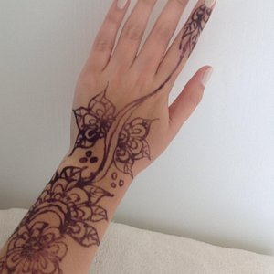 Henna work, originally $25