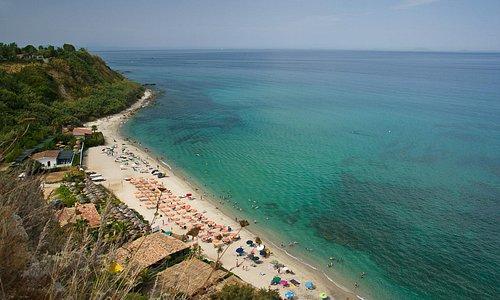 Torre Marino (VV) Calabria  Panoramica della spiaggia