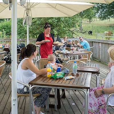 Sit back and relax in the Orchard Café