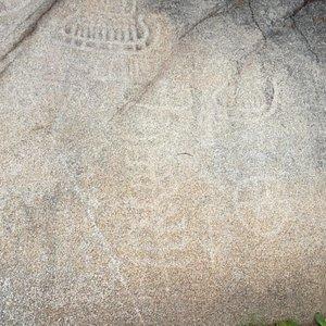 Bjoernstadskipet Rock Carving