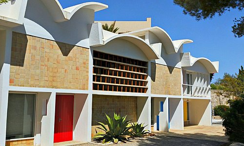 Pilar and Joan Miro Foundation in Mallorca