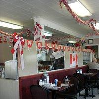 Inside Chris' Restaurant