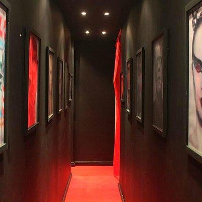 Inside Cine Cafe...