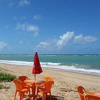 Praia frente ao Jangada
