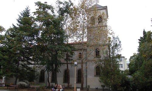 Церковь Пресвятой Богородицы (вид снаружи)