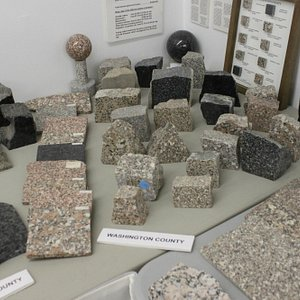 Granite samples from all over New England!