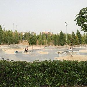 Skatepark Madrid Rio