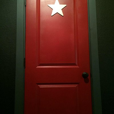 Find out what lies behind this mysterious red door in THE VANISHING ACT.