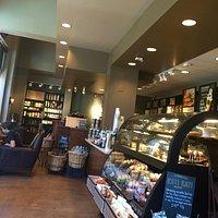 Nice Starbucks at the plaza