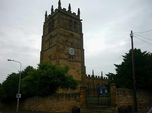 St Peter and St Eurgain Church, Northop