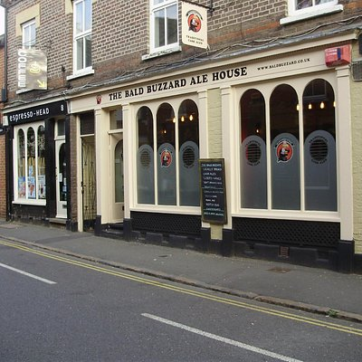 The Bald Buzzard Micro Pub Exterior View from Hockliffe Street