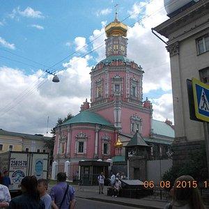 Храм Богоявления Господня бывшего Богоявленского монастыря