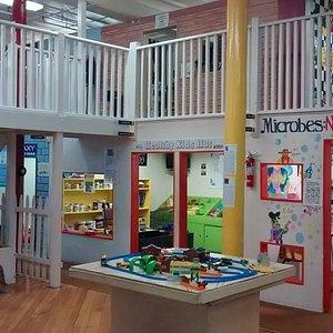 Utica Children's Museum first floor