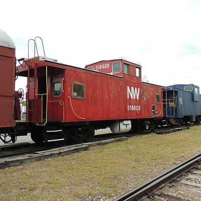 Walk through tour of train cars