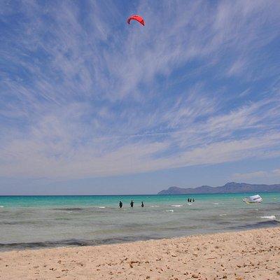 Kite surf avec Marc