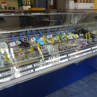 gelateria Da Pippo - il bancone 1