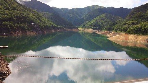 多々良木ダム水面