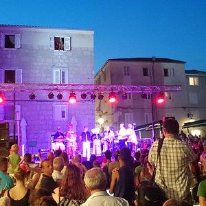 Концерт на площади