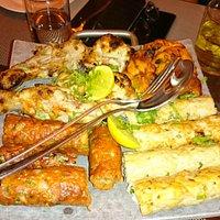 インド料理も豊富にあります。勿論ベジタリアン料理も。