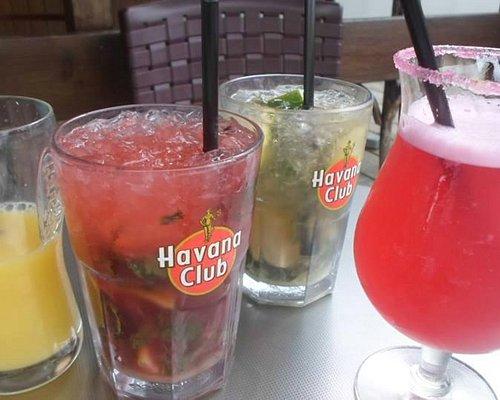 les cocktails et mojitos