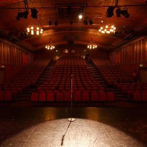 The Dancehouse Theatre's auditorium