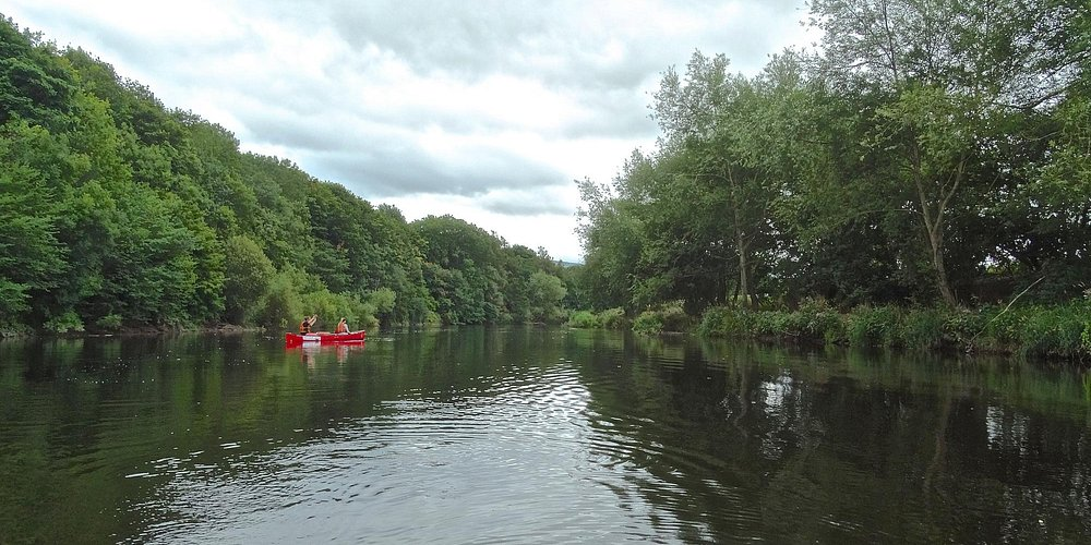 The River Wye: You can even pull over for a picnic if you fancy