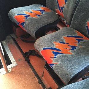 Sitzpolster im Bus -lebensgefährlich!!