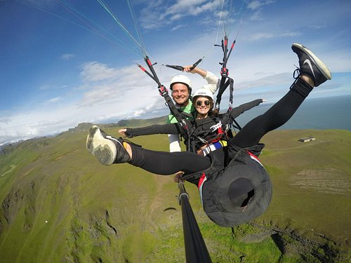Happily Flying with True Adventure Iceland