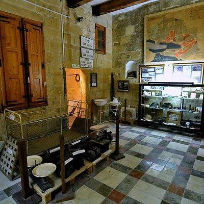 Exhibits hall at Bir Mula Heritage museum