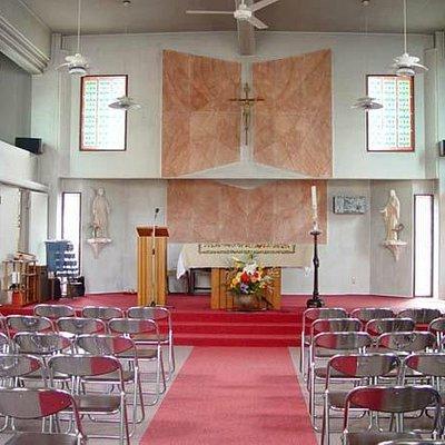 カトリック米沢教会 お御堂
