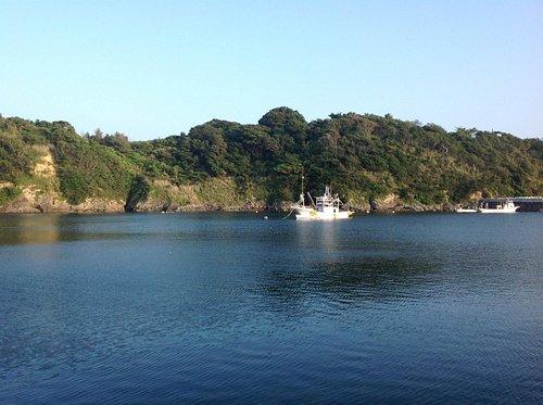 「イマ、ココプロジェクト」私の活動拠点となった狐崎漁港。