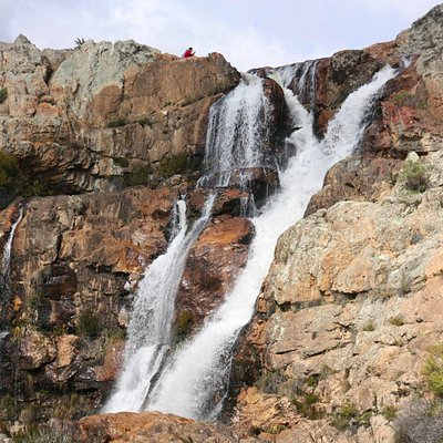Waterfall in Tulbagh - Waterval Nature Reserve, 09 August 2015