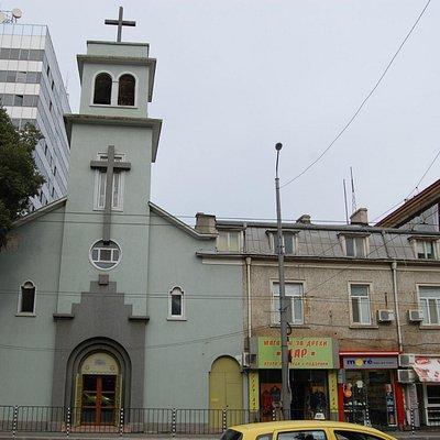 Здание Римско-католической церкви Девы Марии Богородицы