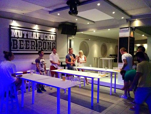Beer Pong Time!!!