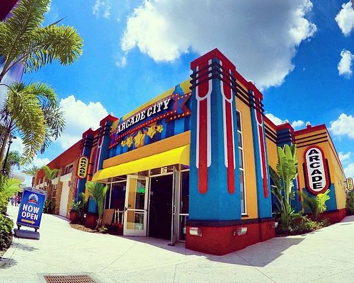Outside view of Arcade City