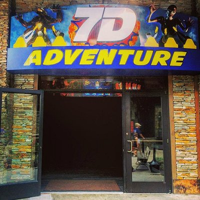 Outside of 7D Adventure