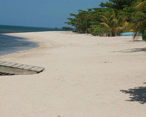 Sandy Bay Beach looking East